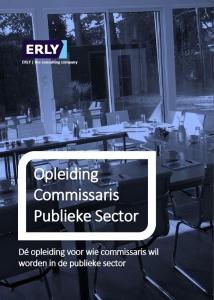 Opleiding Commissaris Publieke Sector